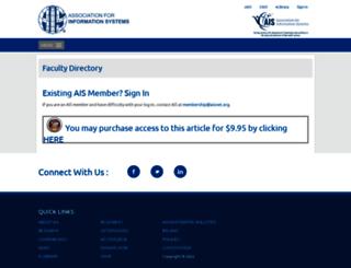 elibrary.aisnet.org screenshot