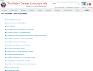 elibrary.icai.org screenshot