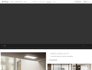 elica.co.uk screenshot
