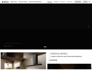 elica.com screenshot