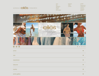 eliesresorts.com screenshot