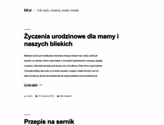 elif.pl screenshot