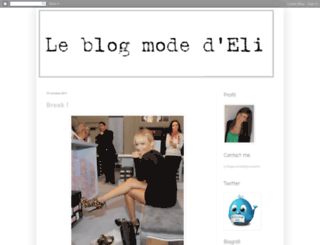 elifashionblog.blogspot.com screenshot