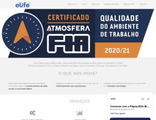 elife.com.br screenshot