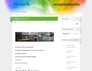 eliflamraa.wordpress.com screenshot