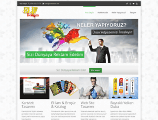 elifreklam.net screenshot