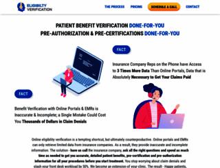 eligibilityverification.com screenshot