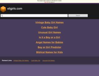 eligirls.com screenshot