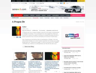 elimanehkane.seneweb.com screenshot