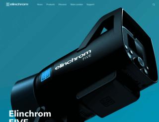 elinchrom.com screenshot