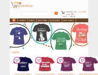 elinenshop.com screenshot