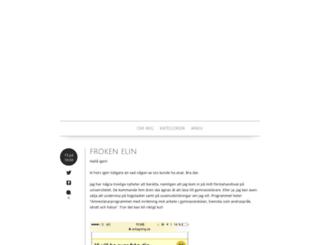 elinfritzon.blogg.se screenshot
