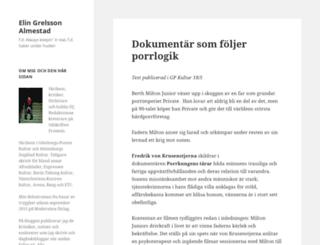 elingrelsson.se screenshot