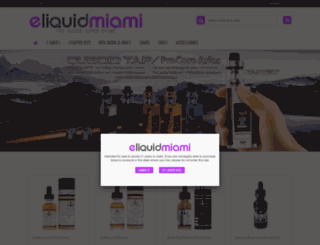 eliquidmiami.com screenshot