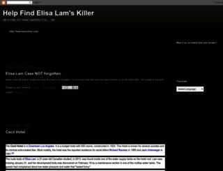 elisalamcase.blogspot.ca screenshot