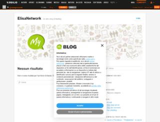 elisanetwork.myblog.it screenshot