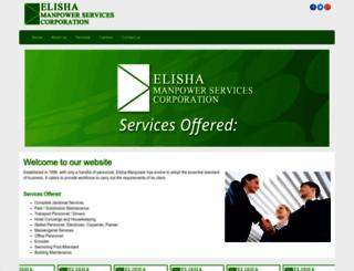 elishamanpower.com screenshot