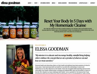 elissagoodman.com screenshot