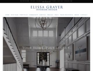 elissagrayerdesign.com screenshot