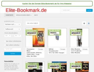 elite-bookmark.de screenshot