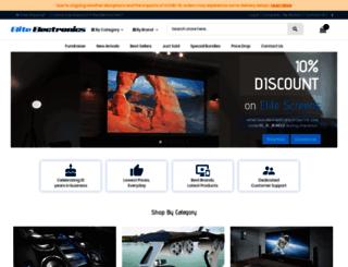 elite-electronics.com.au screenshot