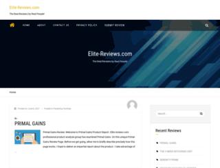 elite-reviews.com screenshot