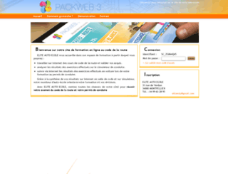 elite-sas-talbot-montpellier.packweb2.com screenshot