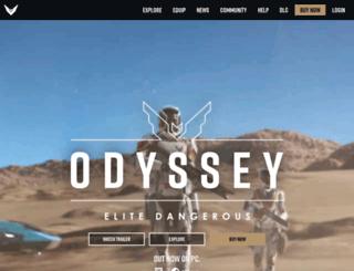elite.frontier.co.uk screenshot