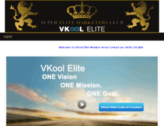 elite.vkool.com screenshot