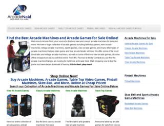 elitearcademachines.com screenshot