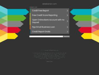elitebankir.com screenshot