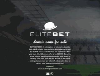 elitebet.com screenshot