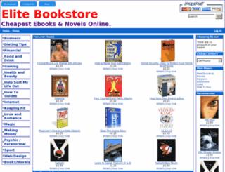 elitebookstore.co.uk screenshot