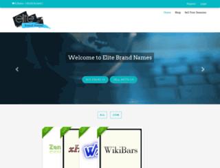 elitebrandnames.com screenshot