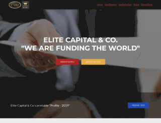 elitecapital.eu screenshot