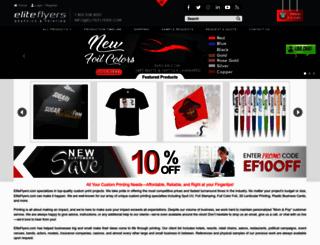 eliteflyers.com screenshot