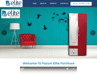 elitefurniture.in screenshot