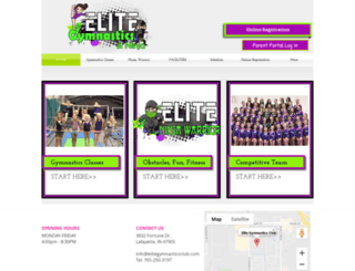 elitegymnasticsandcheer.com screenshot