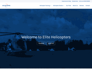 elitehelicopters.co.uk screenshot