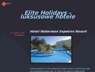 eliteholidays.pl screenshot