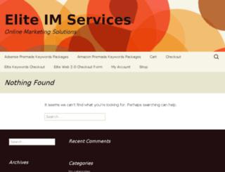 eliteimservices.net screenshot
