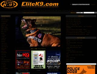 elitek9.com screenshot