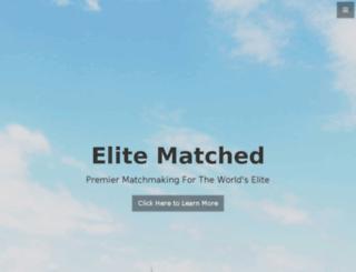 elitematched.com screenshot