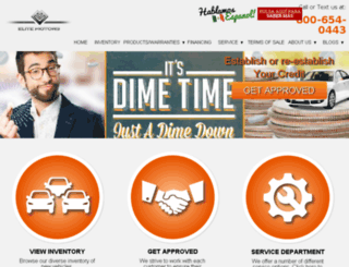 elitemotorsonline.com screenshot