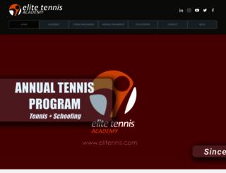 elitennis.com screenshot