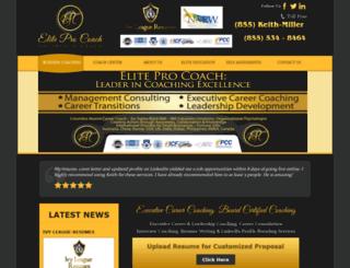 eliteprocoach.com screenshot
