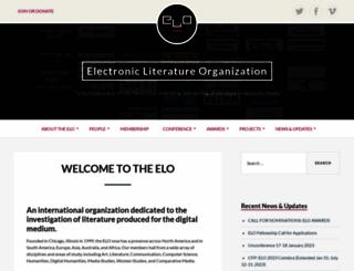 eliterature.org screenshot