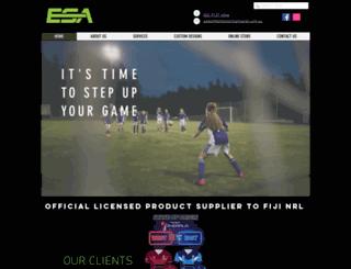 elitesportsapparel.com.au screenshot
