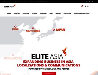 elitetranslations.asia screenshot