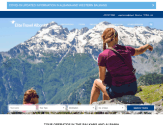 elitetravel-albania.com screenshot